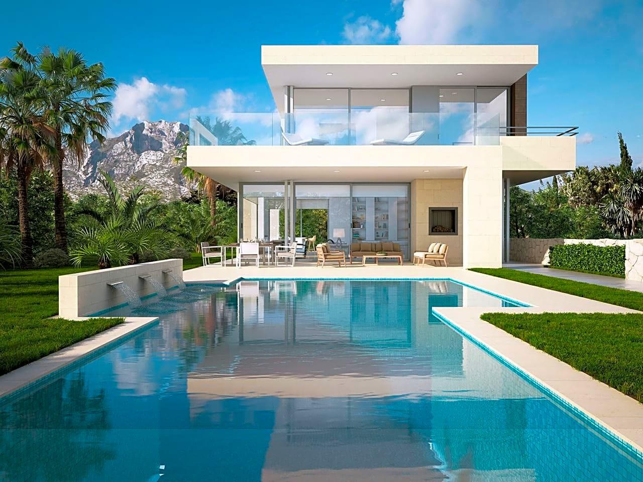 Marbella place casa chalet en venta en marbella de 625 m2 for Casa moderna bella faccia