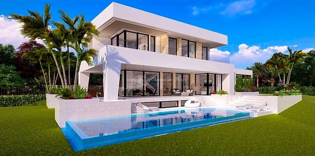 Villa de diseño exquisito y moderno con vistas al Mar, Mijas, Malaga, Costa del Sol