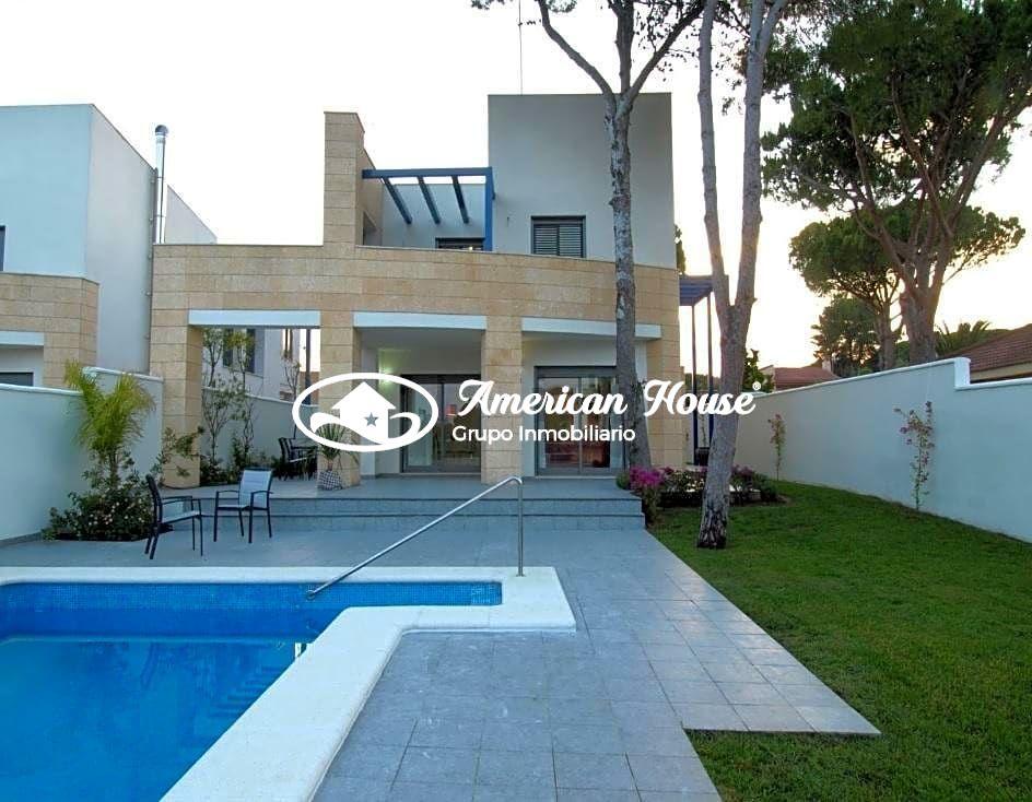 Villa Lujosa, Amplia y Moderna cerca del Mar, La Barrosa, Chiclana de la Fra. Cadiz