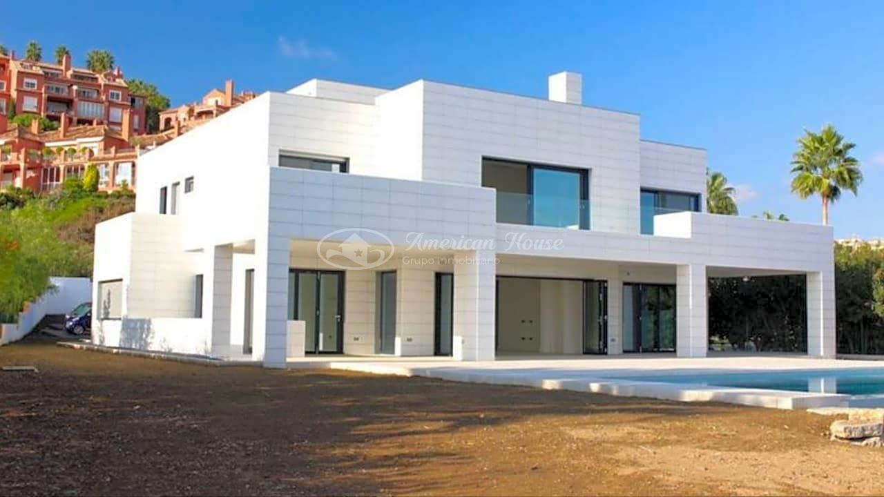 Se vende moderna villa en la zona de Benahavís, Marbella, Málaga