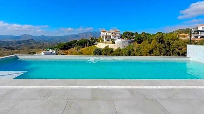 Villa de diseño con vistas Mar y Monte, Mijas, Málaga , Costa del Sol