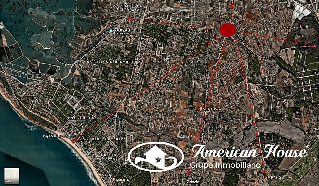 Inigualable Suelo Urbano en Venta en la zona de EL Florín, Chiclana de la Fra. Cádiz