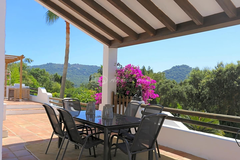 Encantadora Villa con bonitas vistas al Mar Mediterráneo y Estrecho de Gibraltar en El Cuartón, Tarifa, Cádiz